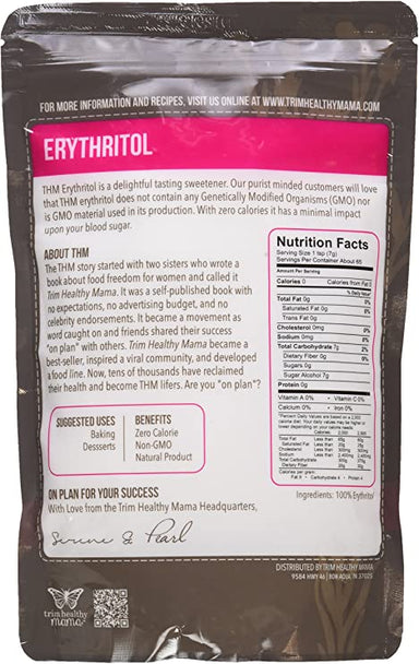 Trim Healthy Mama 100%  Erythritol 453g