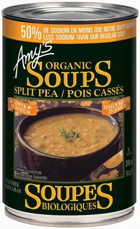 Amy's Split Pea, Low Sodium 398ml