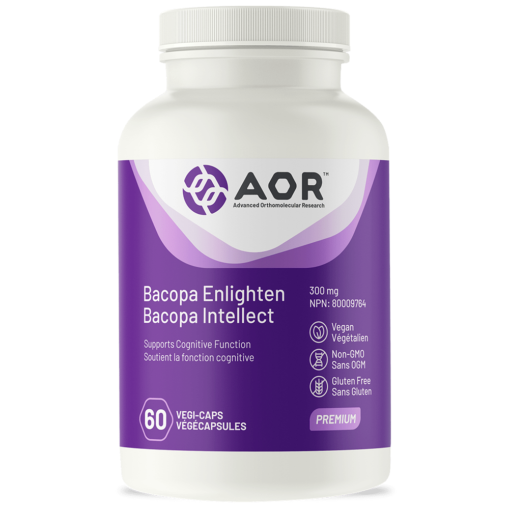 AOR Bacopa Enlighten 60 Vegetarian Capsules