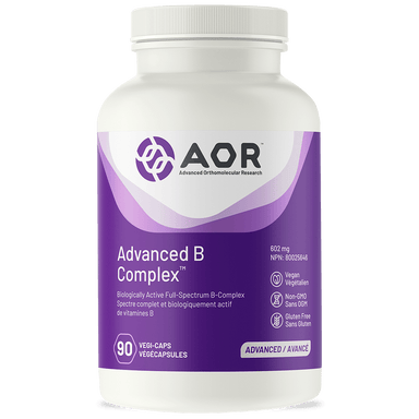 AOR Advanced B Complex 90 Vegetarian Capsules