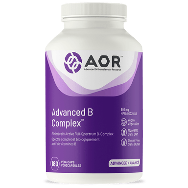 AOR Advanced B Complex 180 Vegetarian Capsules