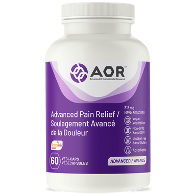 AOR Advanced Pain Relief (FORMERLY: Fem Ease) 60 Vegetarian Capsules