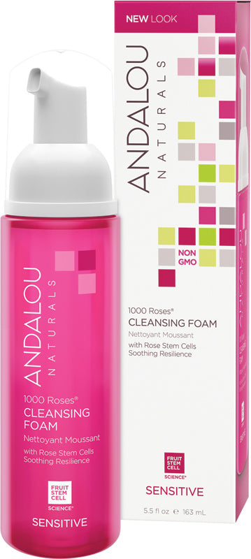 Andalou 1000 Roses Cleansing Foam 163ml
