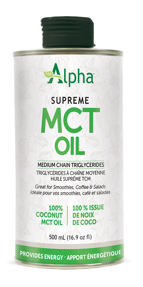 Alpha Supreme MCT Oil 60/40 1L Tin