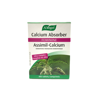 A. Vogel Calcium Absorber Urticalcin 400 Tablets