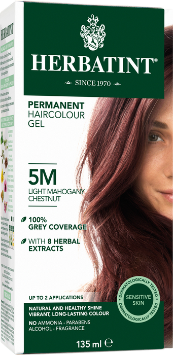Herbatint Permanent Hair Colour 5M Light Mahogany Chestnut 135ml