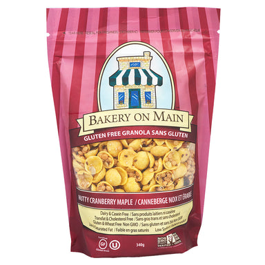 Bakery On Main Nutty Cranberry Maple Granola 340g