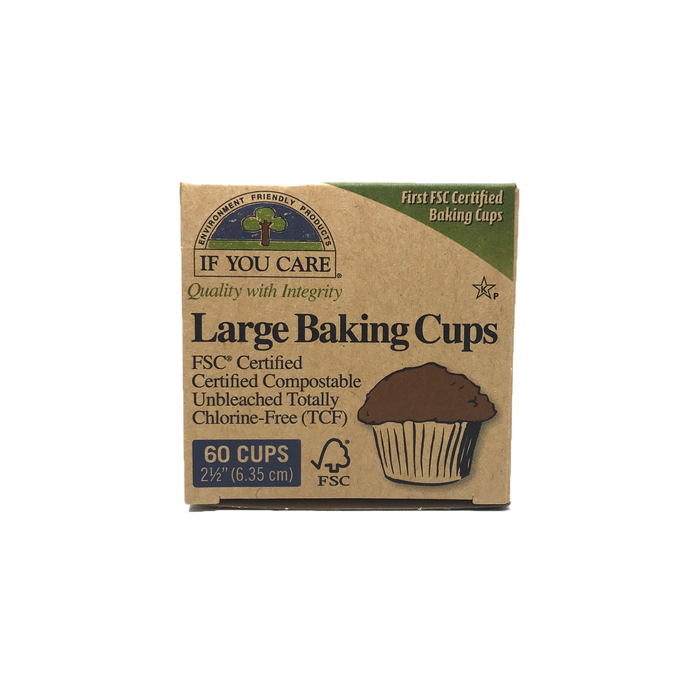 If You Care Unbleached Large Baking Cups 60 Cups