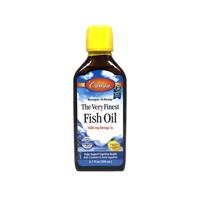 Carlson Lemon Fish Oil 200ml