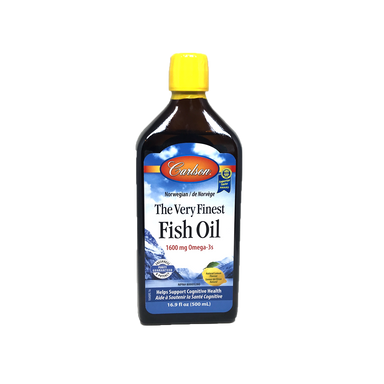 Carlson Very Finest Fish Oil-Lemon 500ml