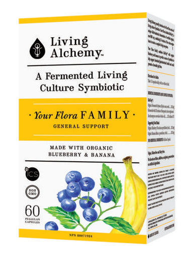 Living Alchemy Family 60 Vegetarian Capsules
