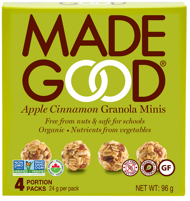 Made Good Granola Minis Apple Cinnamon 4X24g