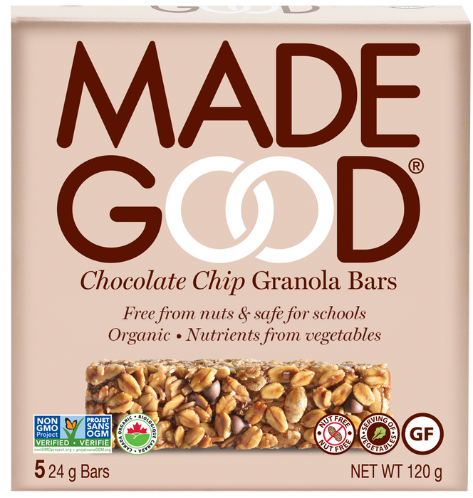Made Good Chocolate Chip Granola Bars 5X24g
