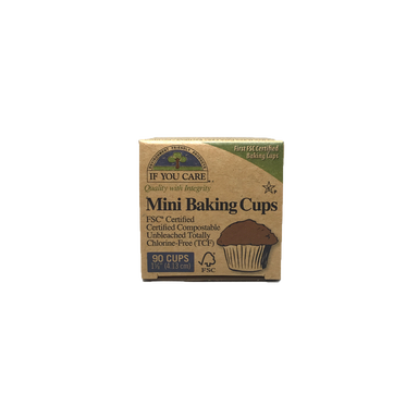 If You Care Unbleached Mini Baking Cups 90 Cups
