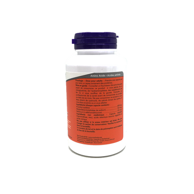 Now Nac 600mg 100 Capsules