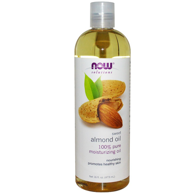 NOW Almond Oil Sweet Expellerpress 473ml