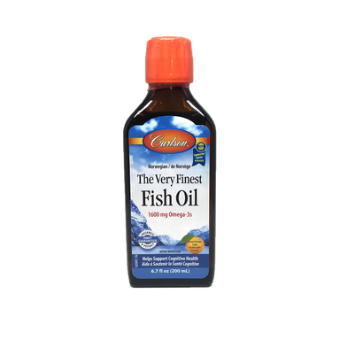 Carlson Very Finest Fish Oil-Orange 200ml