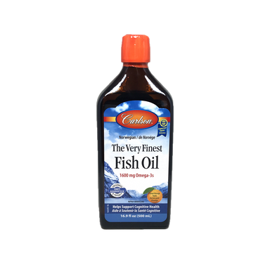 Carlson Very Finest Fish Oil-Orange 500ml