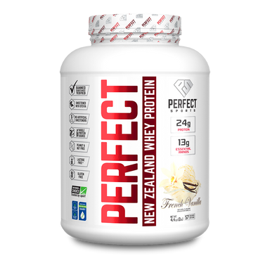 Perfect Sports Perfect New Zealand Whey Protein French Vanilla 4.4lb