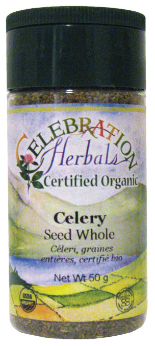 Celebration Herbals Celery Seed Whole Organic 3.5 oz