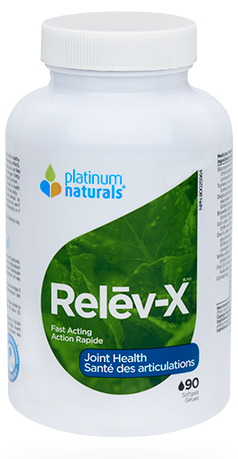 Platinum Naturals Nutri-Joint Relev-X 90 Softgels