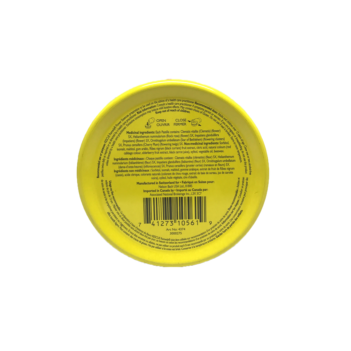 Bach Rescue Pastilles-Black Currant 50g