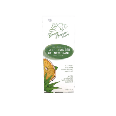 Green Beaver Sensitive Aloe & Grapefruit Facial Cleanser 120ml