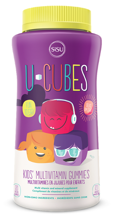 Sisu U Cubes Children's Multivitamin 120 Gummies