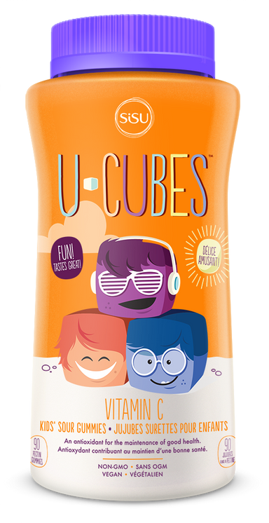 Sisu U Cubes Children's Vitamin C 90 Gummies