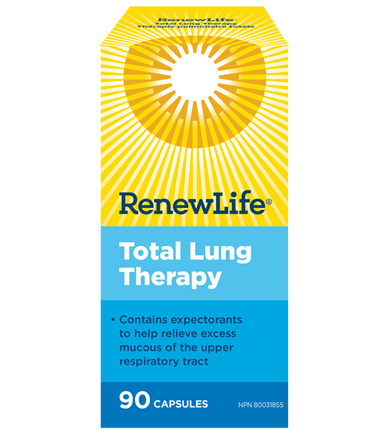 Renew Life Total Lung Therapy 90 Vegetarian Capsules