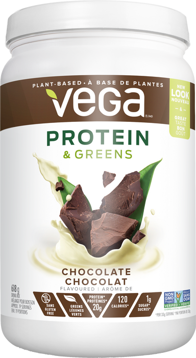 Vega Proteins & Greens Chocolate 618g