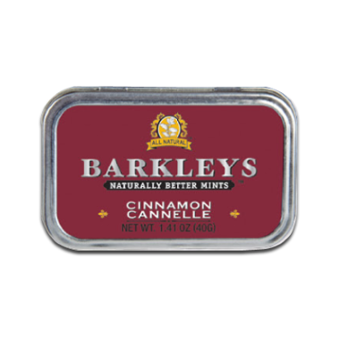 Barkleys Cinnamon Natural Mints 40g