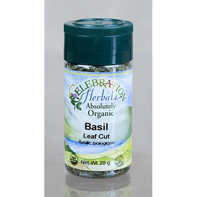 Celebration Herbals Basil Leaf Cut & Sifted Organic 3.5oz