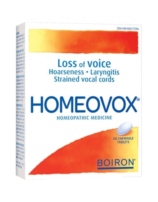 Boiron Homeovox - Loss Of Voice - 60 Tablets