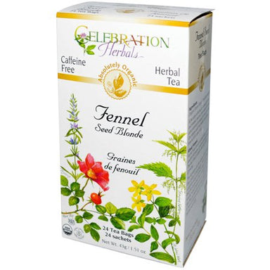Celebration Herbals Fennel Seed Blond 24 Tea Bags