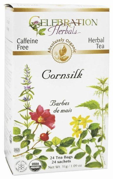 Celebration Herbals Cornsilk Organic 24 Tea Bags