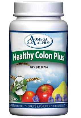 Omega Alpha Healthy Colon Plus 180 Vegetarian Capsules