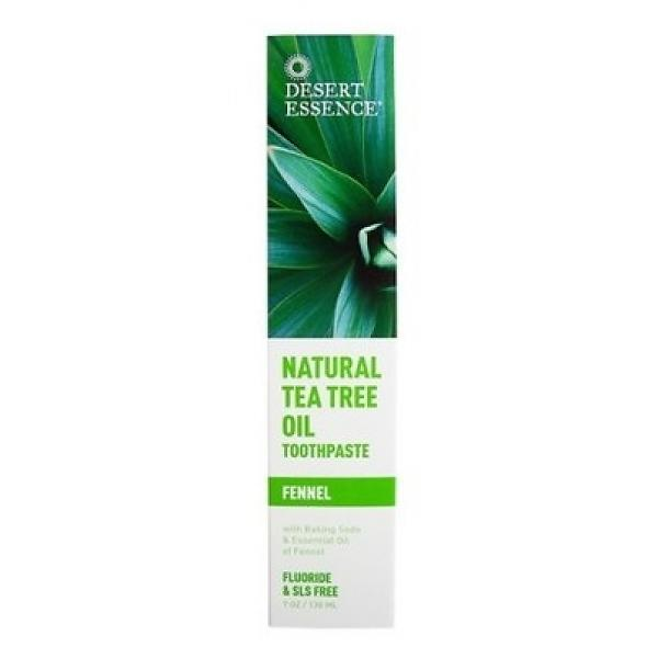 Desert Essence Tea Tree Oil Toothpaste With Fennel 130ml