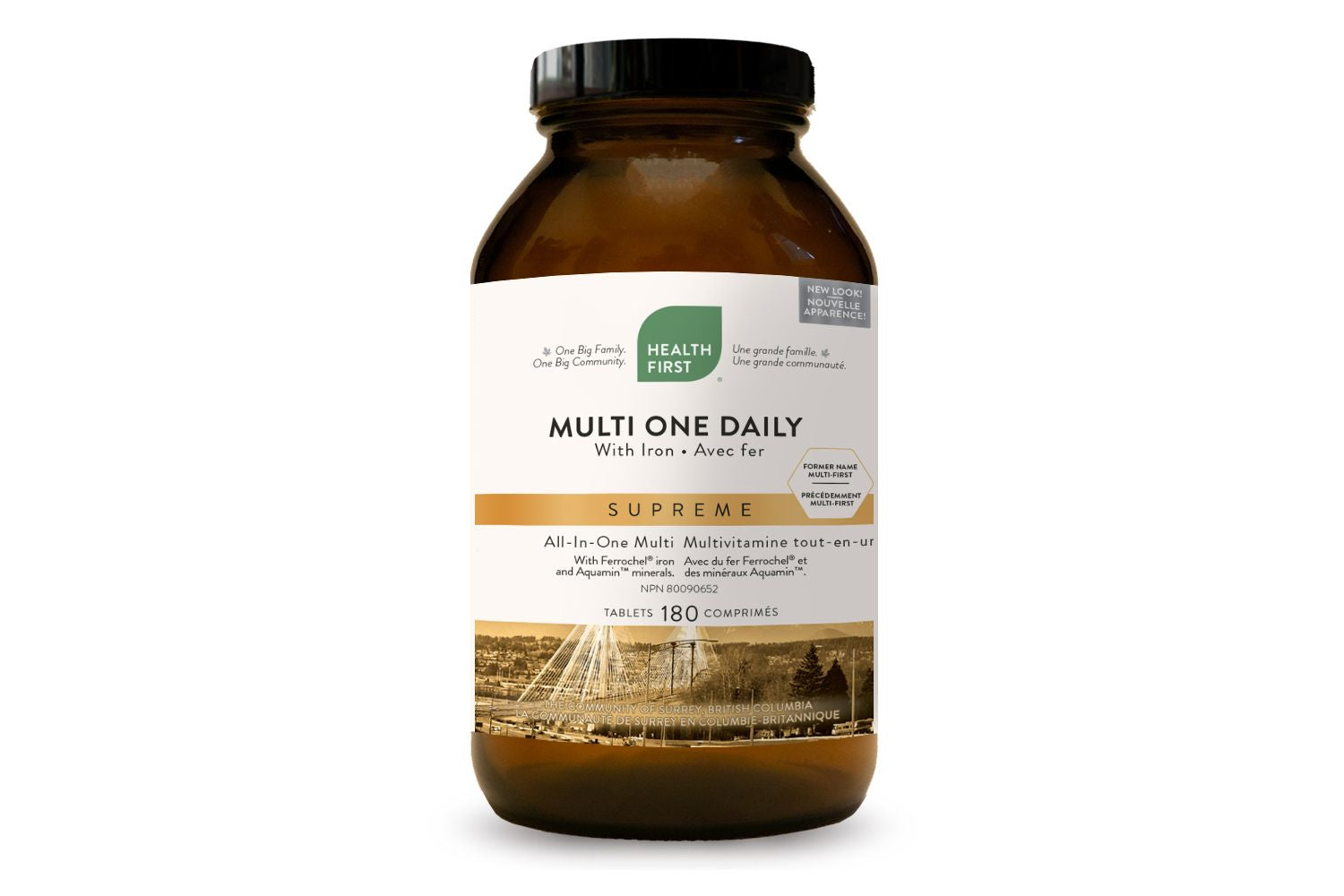 Health First Multi One Daily with Iron 180 Tablets