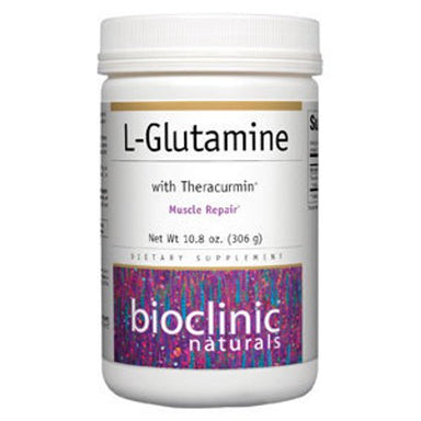 Bioclinic Naturals L-Glutamine With Theracurmin 306g