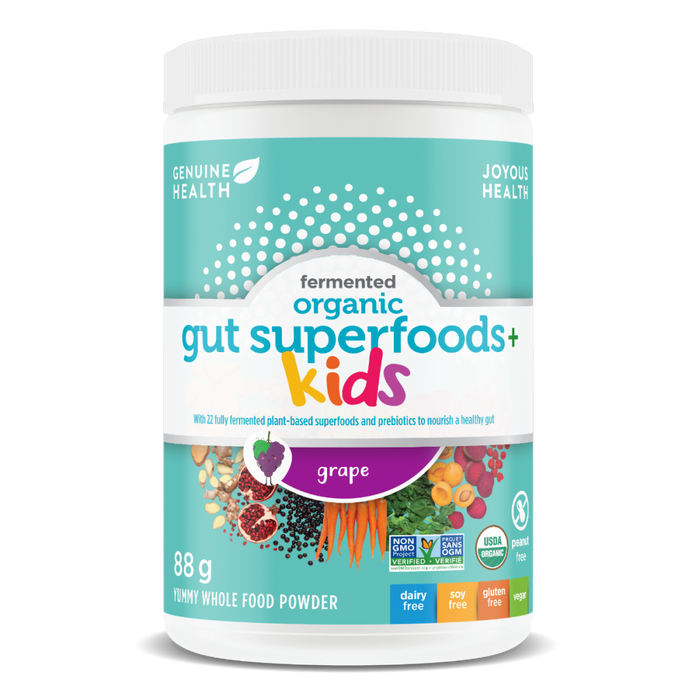 Genuine Health Organic Gut Superfoods+ Kids Grape 88g