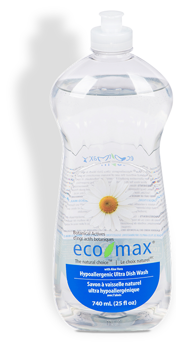 Eco Max Ultra Dish Wash Hypoallergenic 740ml