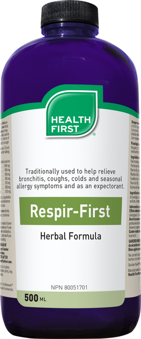 Health First Respir-First Herbal Formula 500ml