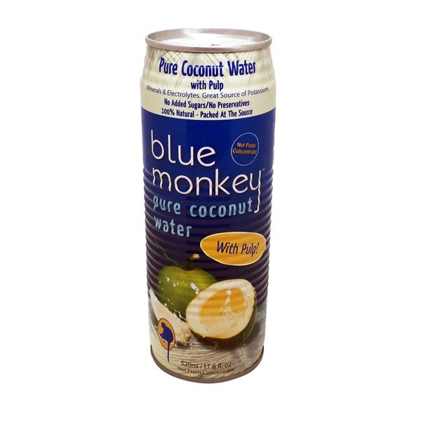 Blue Monkey Coconut Water With Pulp 520ml