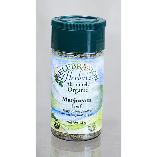 Celebration Herbals Marjoram Leaf Organic 3.5 oz