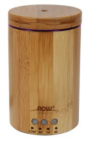 NOW Real Bamboo Ultrasonic Essential Oil Diffuser