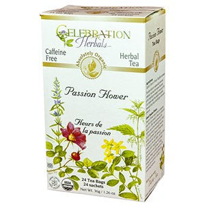 Celebration Herbals Passion Flower Organic 24 Tea Bags