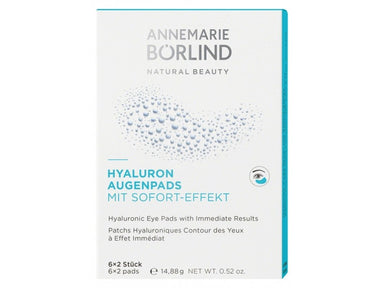 Annemarie Borlind Aquanature Hyaluronic Eye Pads 6 x 2 Pads