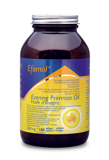 Efamol Evening Primrose Oil 1000mg 180 Softgels
