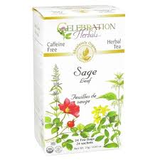 Celebration Herbals Sage Leaf Organic 24 Tea Bags